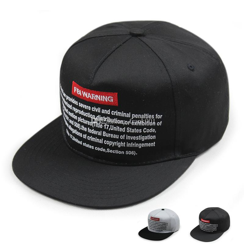 Brand Baseball Cap Men Snapback Cap Hat Women FBI WARNING Base Ball Hat For  Men Casquette Bone Sports Cap Sun Hat Brixton Hats Trucker Cap From  Frank001 b59d329453e