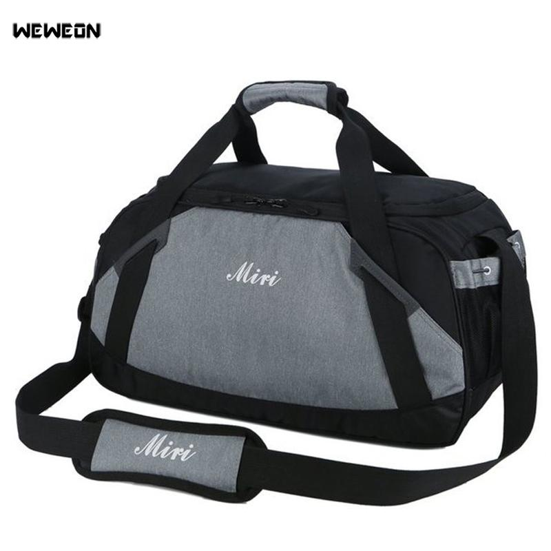 d4a53d544b7e 2019 Hot Men Thicken Sports Gym Bag Practical Large Fitness Shoulder Bag  Women Yoga Tote Travel Luggage Hangbag Sac De Sport Bolsa From Raisins