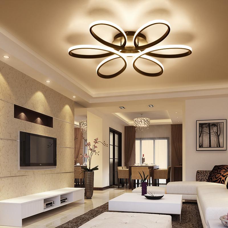 2019 Modern Led Ceiling Lights For Living Room Bedroom Ac 90 260v