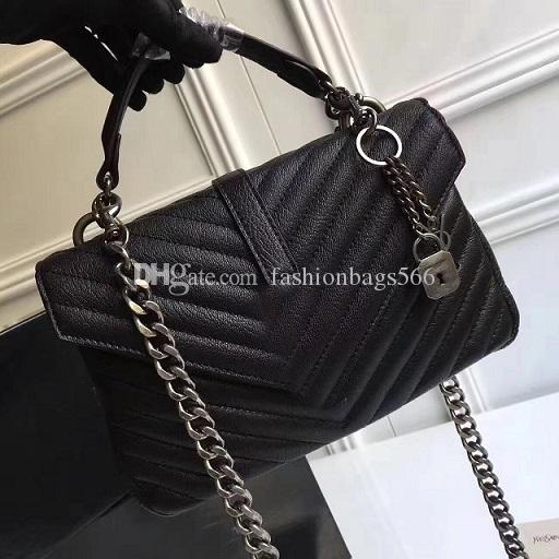 Free Shipping 25CM Fashion Brand design Leather Bag for women bag shoulder bags for female hot sale