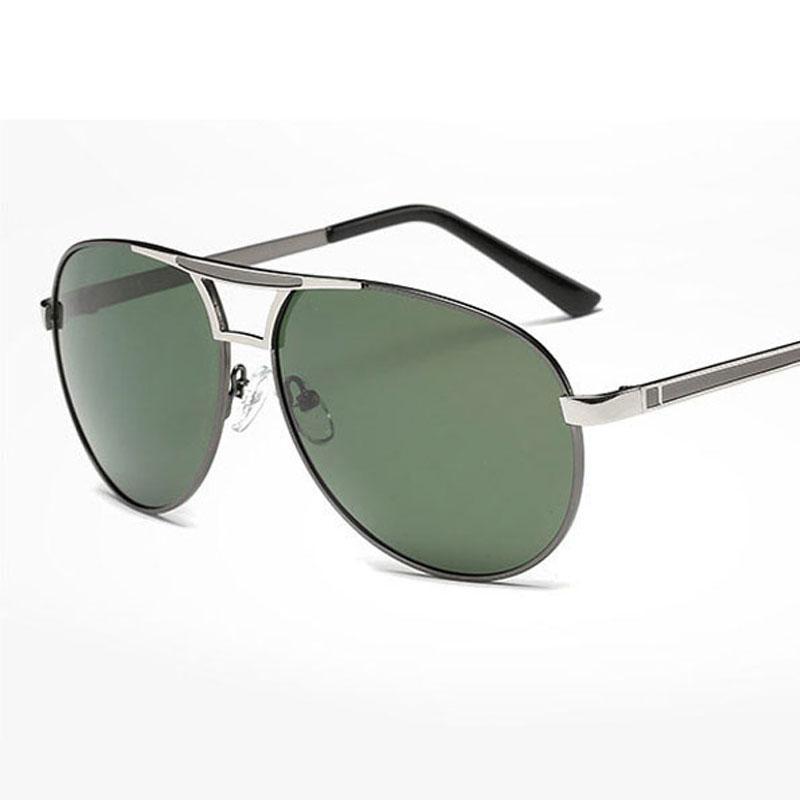 cac40385d6c TWO Clock Sunglasses 2018 Summer Pilot Driver Polarized Sunglasses Men  Women Polarized Sunglasses Metal Classic Eyewear For Travel Sunglasses Uk  Polarised ...