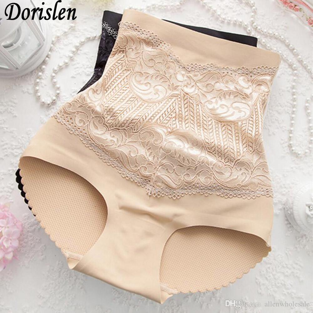 961a2e20ce4e3 High Waist Hip Padded Panties Buttocks Enhancer Shaper Embroidery ...
