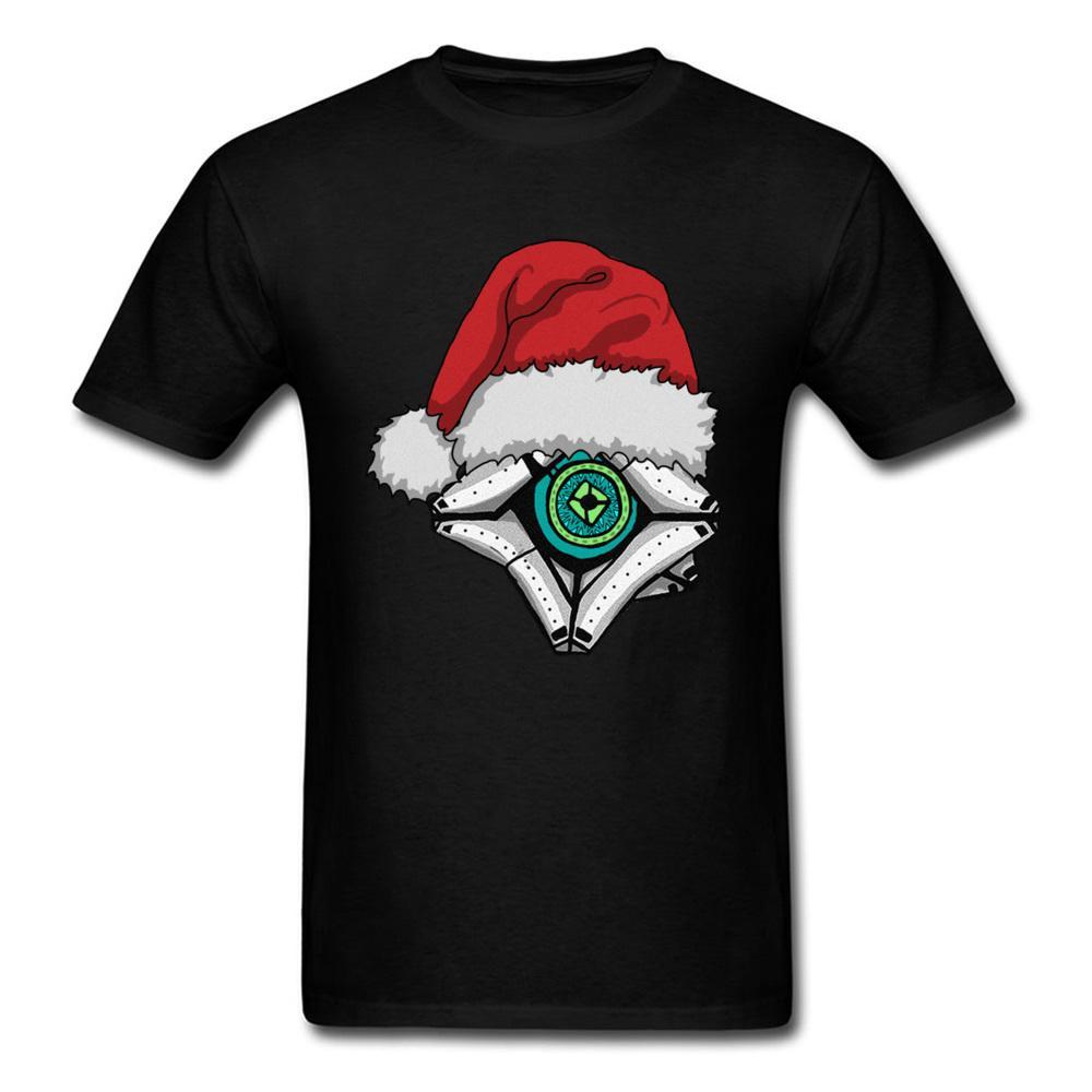 Großhandel Weihnachtsgeist 2018 Wunderliche Männer Schwarz T Shirt ...