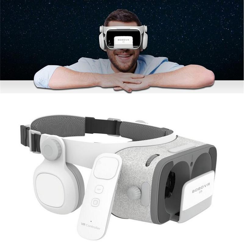 5580c69eede Xiamelon 3D VR Glasses Virtual Reality Goggles 120 FOV Cardboard VR Box+Remote  Controller For IOS Android Daydream Smartphone Make 3d Glasses 3d Gaming ...