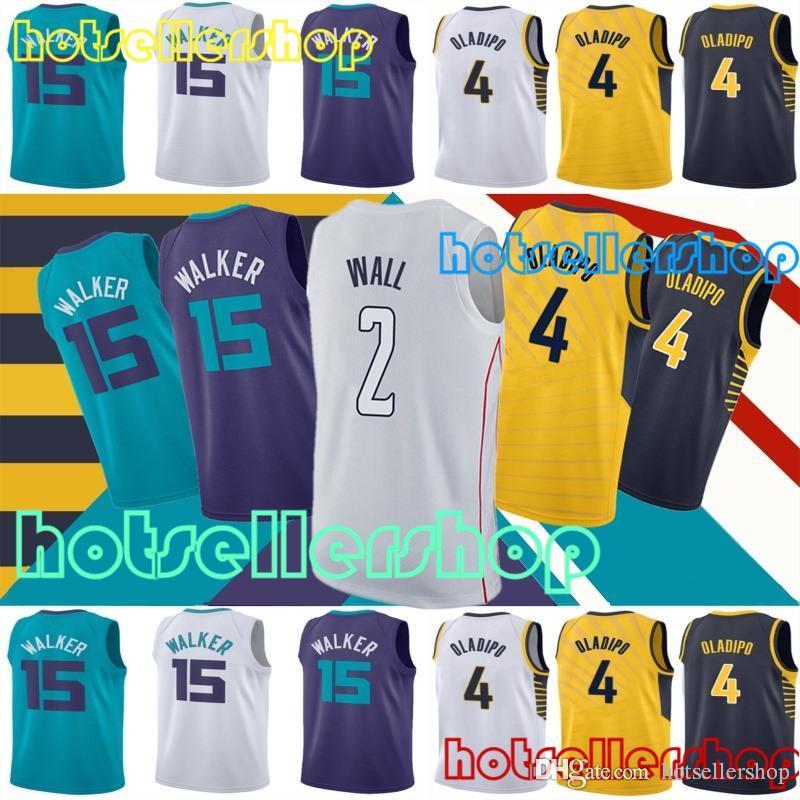 1b39fc263 Mens 2018 Basketball Jerseys 15 Kemba Walker Jersey 2 John Wall Jersey 4  Victor Oladipo Jersey Kemba Walker John Wall Victor Oladipo Online with   22.7 Piece ...