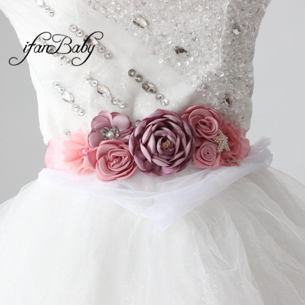 d589ea7ba7f Acheter Ceinture De Fleur De Plage Rose Vintage Pour Mariage Avec Bandeau À  Fleurs En Strass. Ceinture Femme Ceinture De  45.42 Du Xiamenwatch