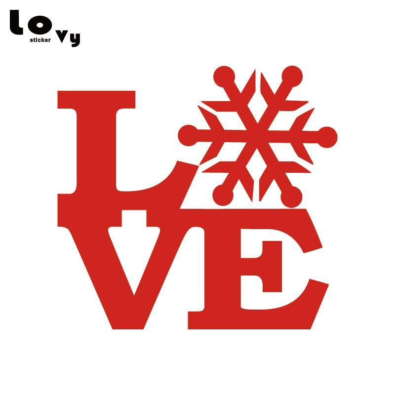 Adesivi Buon Natale.Buon Natale Vinile Wall Sticker Inverno Amore Xmas Art Adesivo Home Decor Regalo Di Natale Wa0603