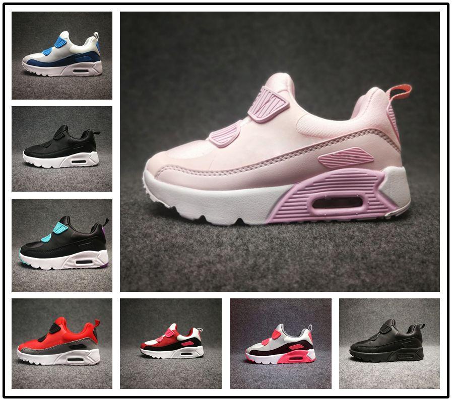 301952b3e3749 Acheter Nike Air Max Airmax 90 Enfant Sneakers Chaussures Presto 90 Ii  Enfants Sports Orthopédie Jeunesse Enfants Formateurs Infantile 90 Filles  Garçons ...