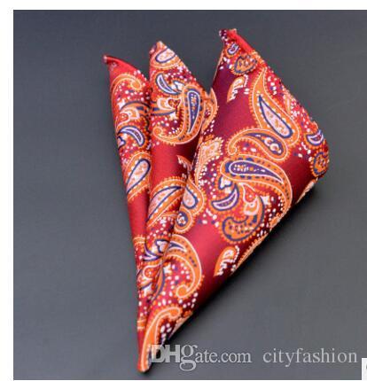 Los trajes formales de los hombres casuales de la manera llanura sólida del bolsillo del satén cuadrado del pañuelo del banquete de boda de los hombres del pañuelo del envío libre