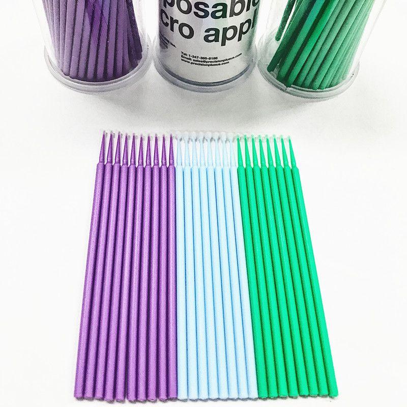 2018 Seashine Mikro Tek Kullanımlık Kirpik Uzatma Bireysel Aplikatörler Maskara Fırça makyaj araçları, olmayan linting Göz Lashes için Makyaj