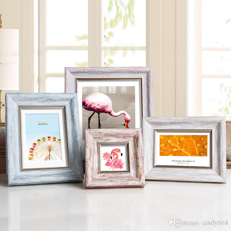 2019 Aesthetic Photo Frame For Home Decor Quality Plastic Table