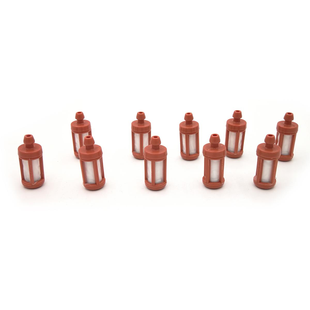 10 Unidades 8 5mm I D Filtro de Combustible de Gas para STIHL 026 029 034  036 038 039 044 046 066 088 TS400 TS410 TS450 TS700 TS760 TS860 TS800 MS260