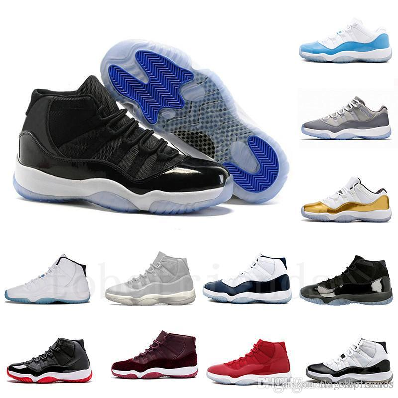 11 Basketball Shoes Space Jam 45 Gamma Blue Bred Concord 23 Gym Red ... 6c2457d74365