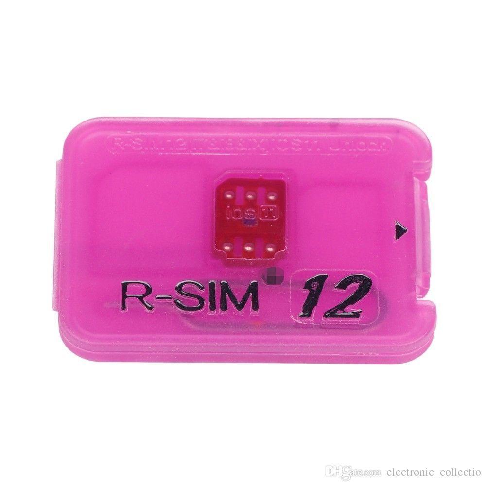 R Sim12 Pour For Iphonex 8 8p7 6 6s 5 Ios11x 10x 4g Nano Unlock Nossy Sim Card X Cloud Rsim Hg Noosy Cutter Template From Ilovesusimida 329