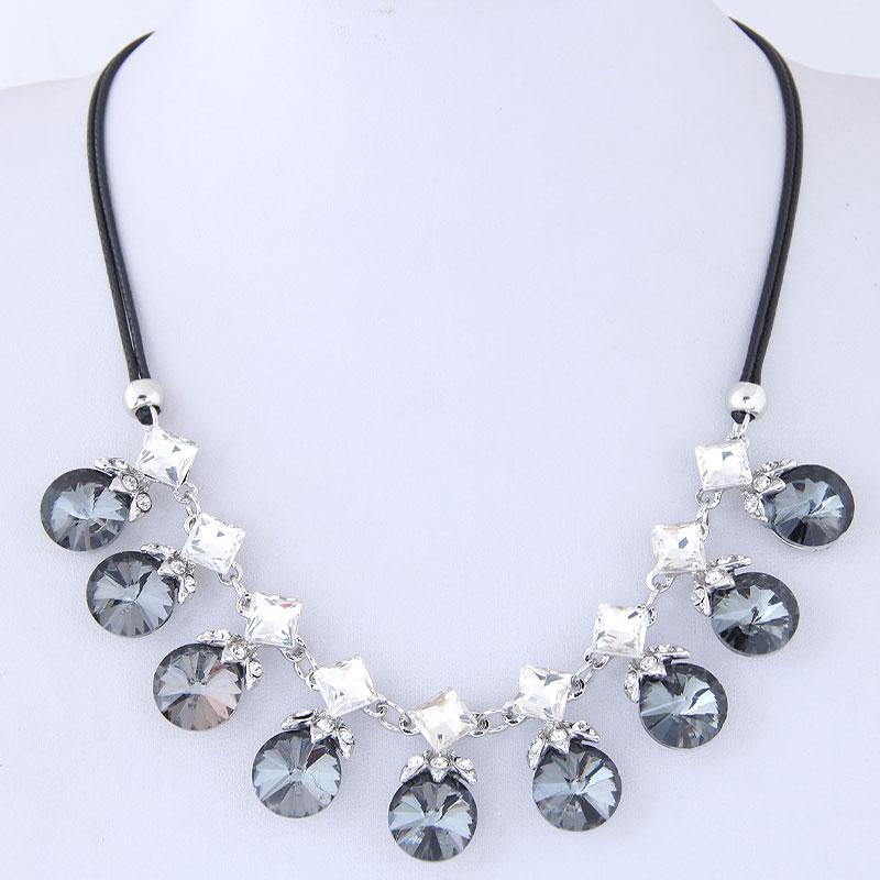 Choker Necklaces For Women Rope Chain Necklace Circle Necklaces & Pendants Statement Necklaces New Fashion jewelry