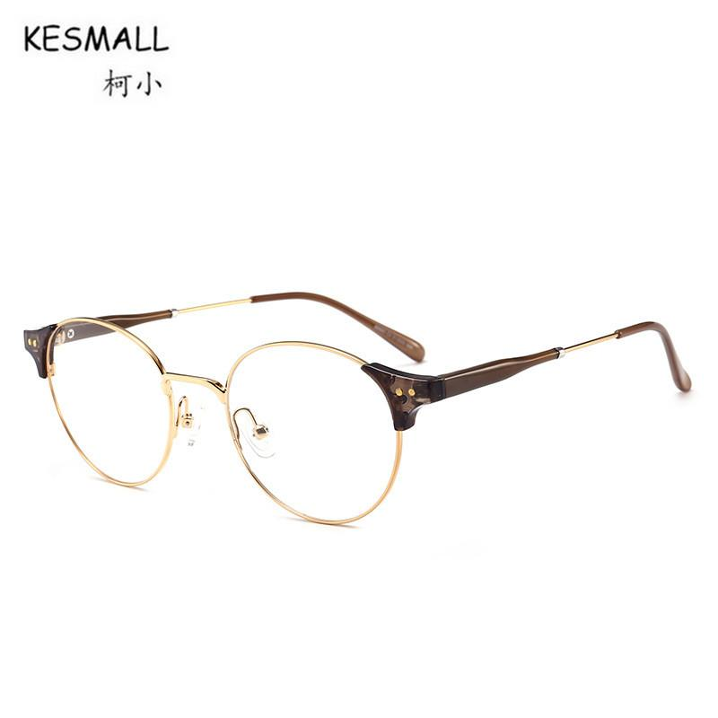 0d3eefd1b0aa 2019 KESMALL 2018 Fashion Vintage TR90 Glasses Frame Men Women Ultra Light Eyeglasses  Frames Clear Lens Eyewear Occhiali Miopia XN398 From Bojiban