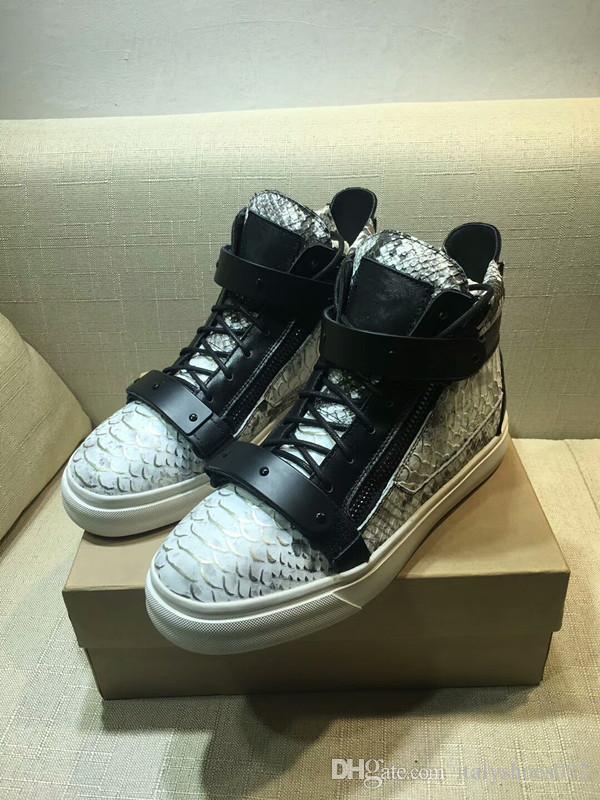 Sneakers In Lusso Doppia Con Metallo Nuovissime Hig Cerniera Acquista Da Scarpe Casual Scarpe 2018 Rivetto Uomo Da Di Da Vernice Uomo Da Ginnastica Donna YYOxSwUq41