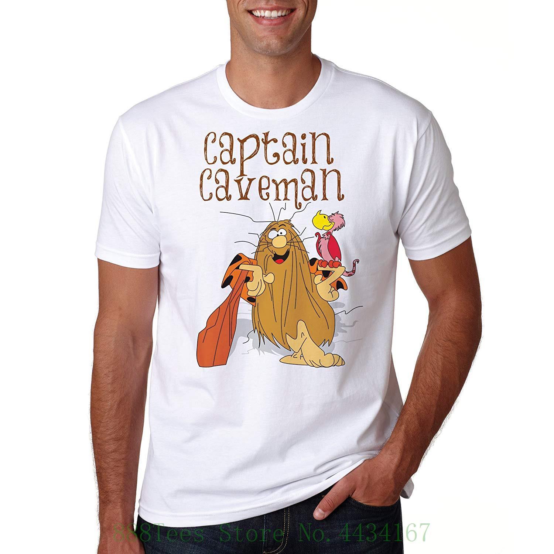 Hombre Gracioso Camiseta 41 Verano Retro Banksy Las Capitán Cavernas Regalo Hombres Cool Prty Rápida Mono De Comida OkuPXZi