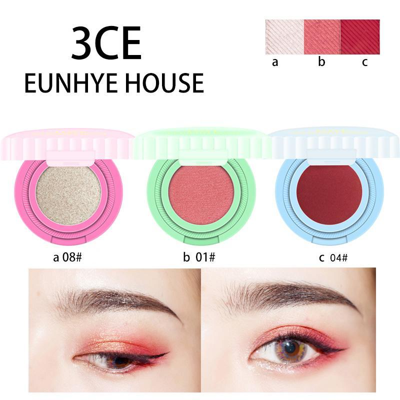 Eye Makeup Eyeshadow Flower Candy Style Glitter Matte Solid Color