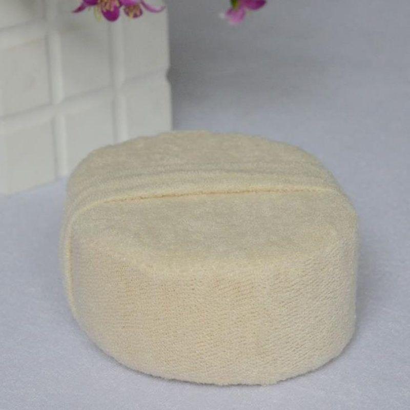 Cepillo de baño suave Masaje Ducha Loofah esponja Volver Spa Scrubber Baño natural exfoliante Scrubber guante esponja F20173349