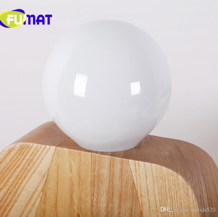 Lampada da tavolo a led in legno con lampada da tavolo