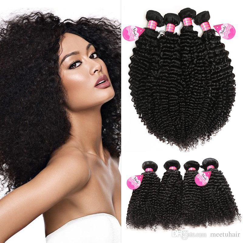 Brazilian Curly Virgin Hair 4 Bundles Virgin Brazilian Peruvian Indian  Malaysian Kinky Curly Hair Weaves For Black Women Hot Sale Brazilian Hair  Weave ... 7e865c849