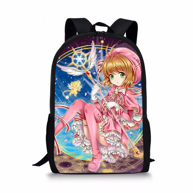 Acheter Japonais Anime Carte Captor Sakura Sac A Dos Sac A