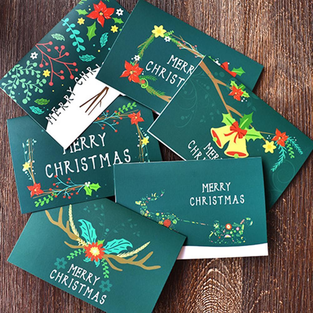 Großhandel 48 Karte + 48 Umschlag / Weihnachtsgruß Geschenk Karte ...