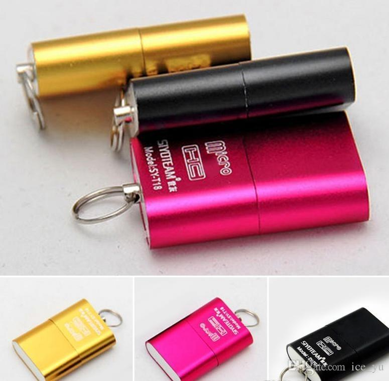 Hot Brand High Speed USB 2.0 Micro SD TF T-Flash Memory Card Reader micro sd Adapter