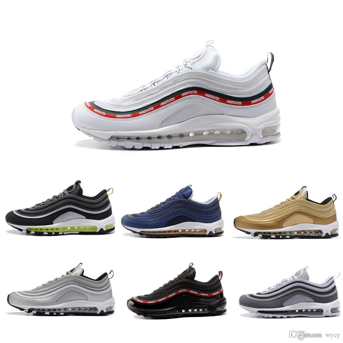 Réduire Simple Nike Air Max 97 Hommes Qualité Nike De Gros