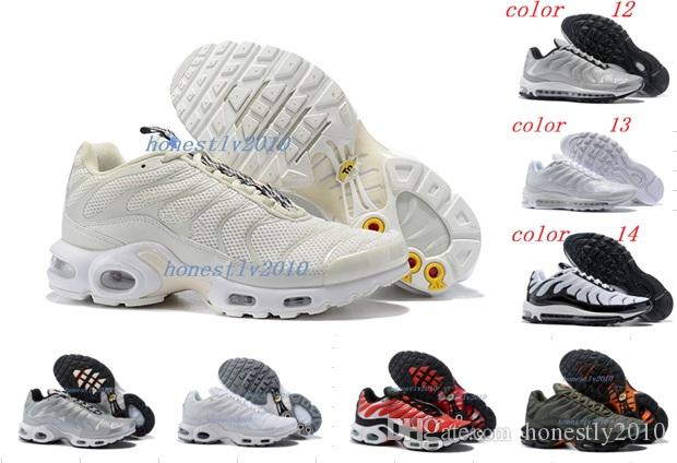 quality design 30cd5 95a13 Luxury 97 Hot Sale 2018 Mercurial Plus TN Ultra Men Running Shoes High  Quality Mens Womens Gazelle Athletic Running Shoes Size 36-46 Mercurial  Plus TN Ultra ...