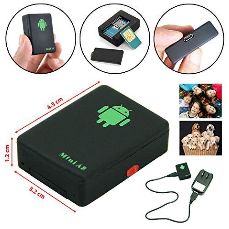 Nuevo Mini A8 Car Tracker GPS Tiempo real global 4 Frecuencia GSM / GPRS Seguridad Dispositivo de seguimiento automático Soporte Android para niños Mascota Vehículo