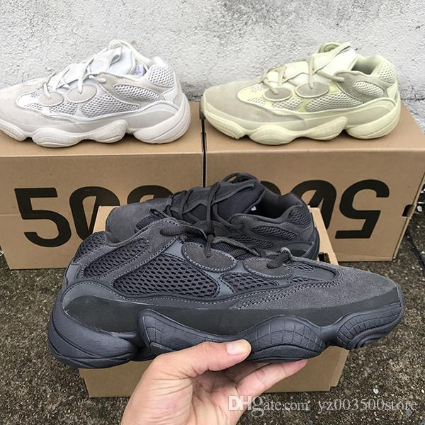 4ce670ec3d9 2019 2018 New Kanye West Designer Shoes Rat 500 Retro Dad Sports Shoes High  Quality Men Women Running Shoes Fashion Classic Trainers EUR 36 45 From ...