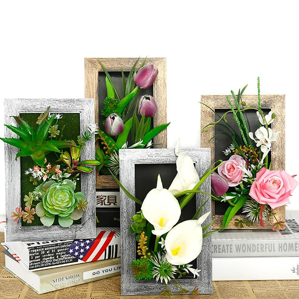 2018 3d Artificial Plants Decoration Stereo Artificial Flowers Wall