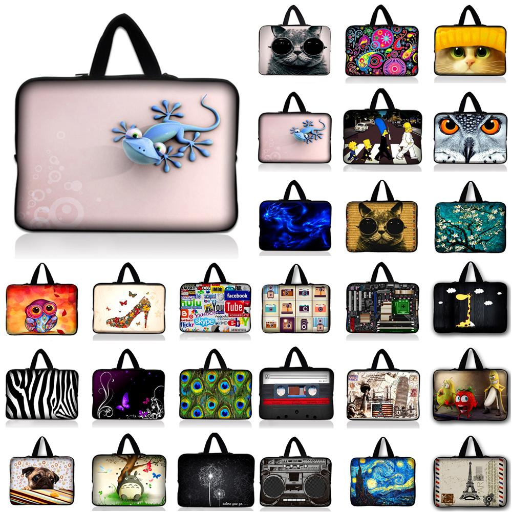 New PC Bag 10 11.6 12 12.1 13 13.3 15 15.6 17 17.3 Laptop Bag For Women Sleeve Case Tablet Briefcase Netbook Protective Pouch #D