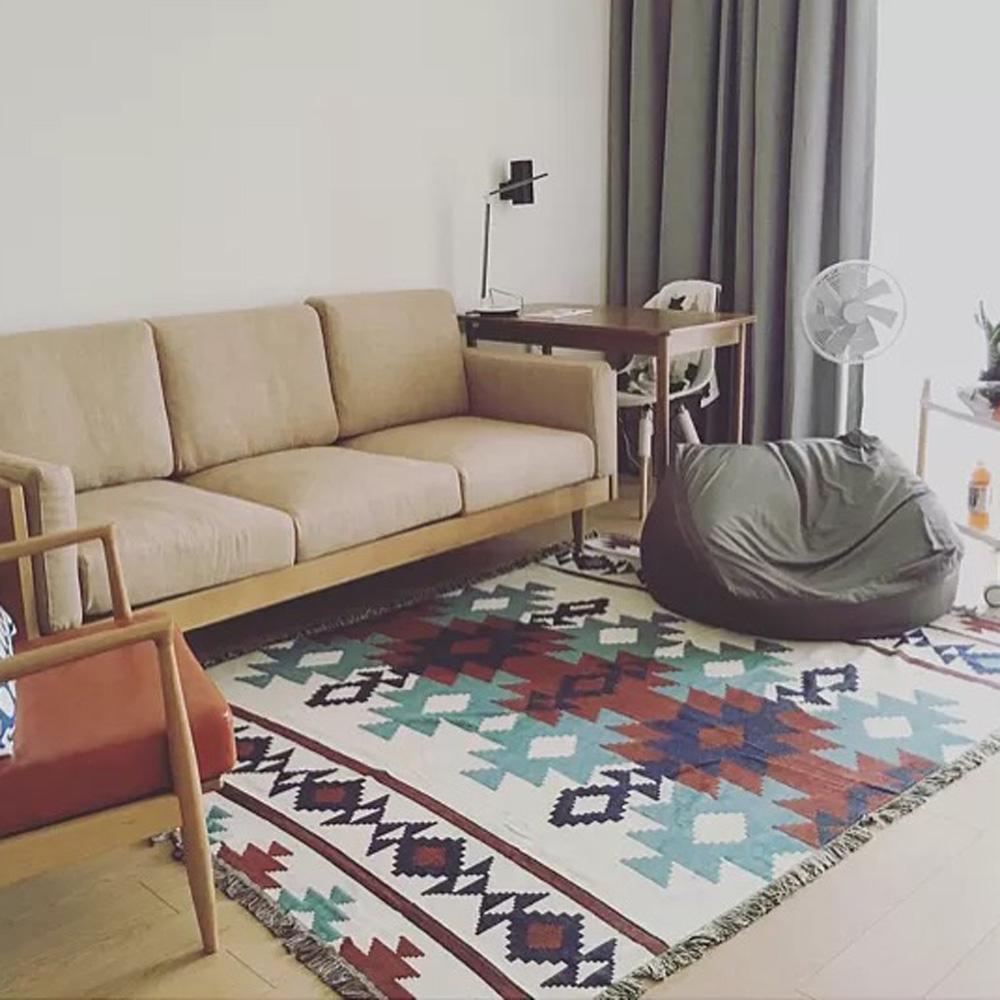 Großhandel Baumwolle Teppich Für Sofa Wohnzimmer Schlafzimmer ...