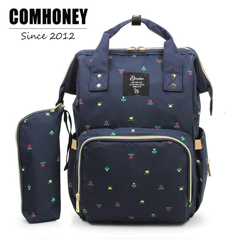 a4385753694bb 2019 Backpack Diaper Bag Fashion Mummy Maternity Nappy Bag 21 27 42cm Changing  Bag Wet Organizer Traveling Backpack Baby Nursing Bag From Laurul