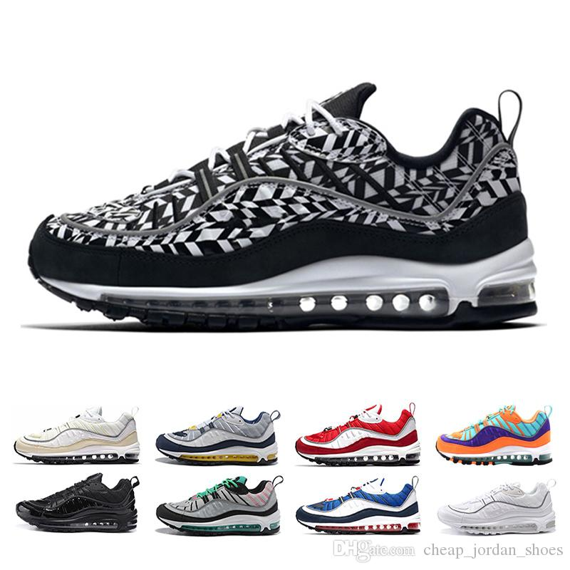 Cheap 98 98s shoe South Beach Thunder Blue Gundam Cone Mens running shoes Triple Black White Gym Red AOP Tour Yellow sports Sneakers sale pictures Cheapest online comfortable for sale manchester great sale sale online cheap 2015 13af84pdO