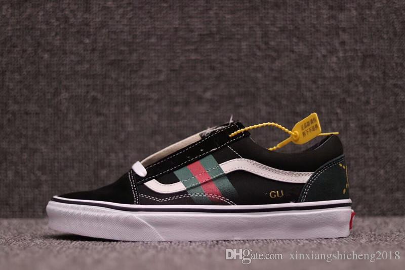 0e9f258ac3b Fashion G X Old Skool Canvas Men Women Loafers Sneakers Luxury Brand ...