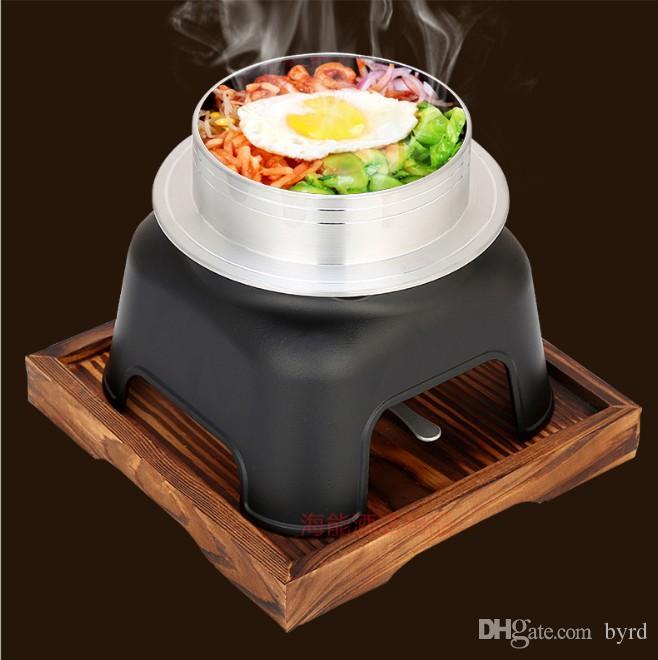 일본식 우롱 스토브 야외 캠핑 요리 냄비 미니 휴대용 찐 쌀 알루미늄 팬 밥솥 052