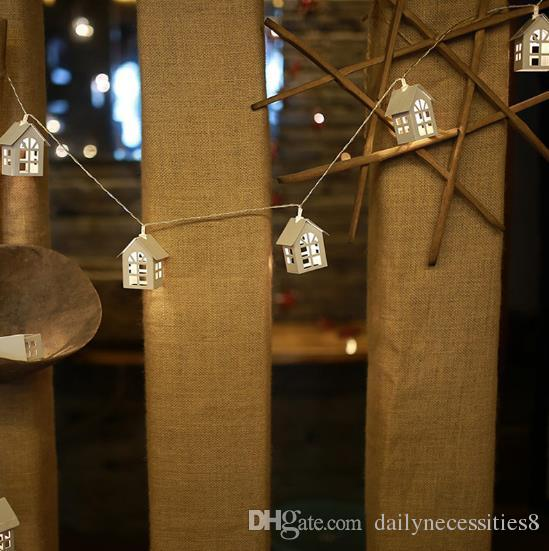 Creative Minimalist Iron House House Lamp House Indoor Bedroom