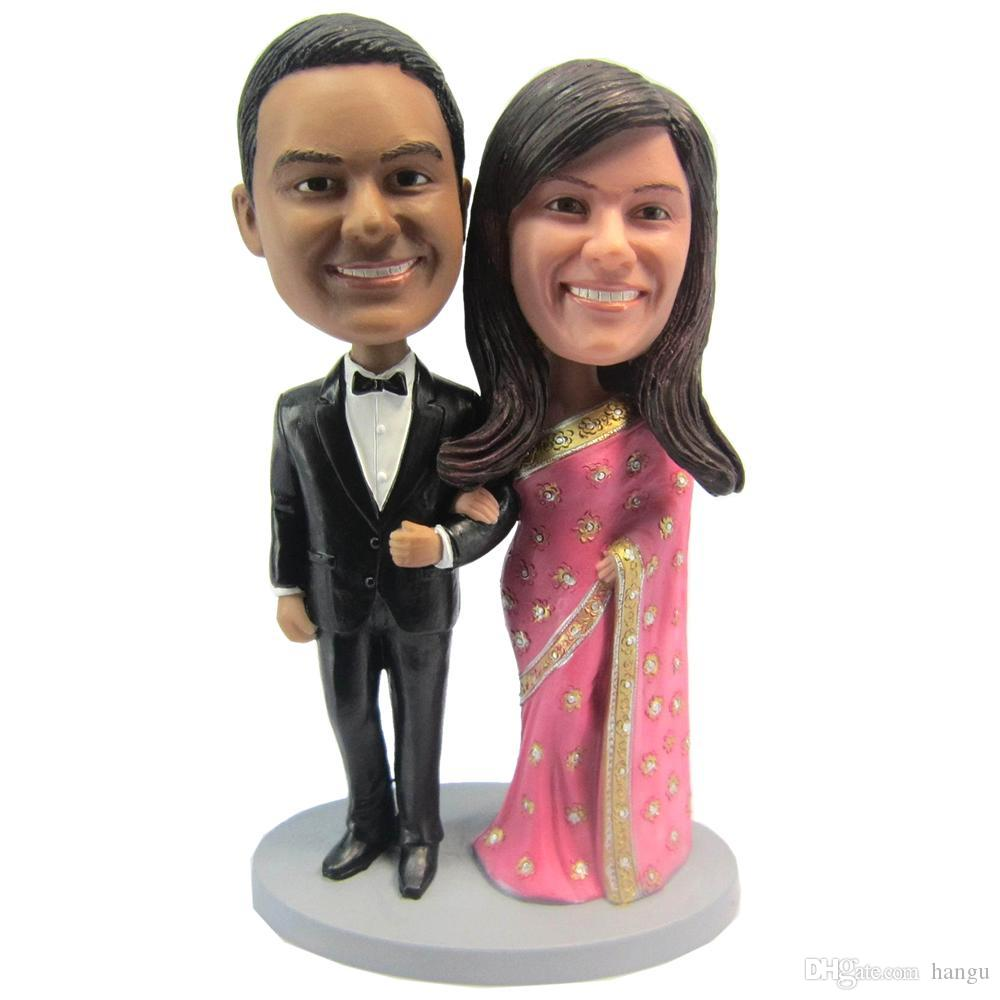 Best Express Personalized Bobblehead Doll India Couple Wedding Gift