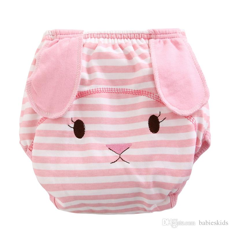 Mother Kids Baby Care Cloth Diapers Unisex Reusable Washable Infants Soft Cotton Cloth Training Panties Nappies Changing