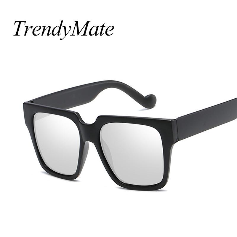 d4b5349abf Fashion New Square Sunglasses Women Men 2018 Luxury Brand Designer Black  Oversized Shades Sun Glasses Male Mirror Summer 5343M Kids Sunglasses Locs  ...