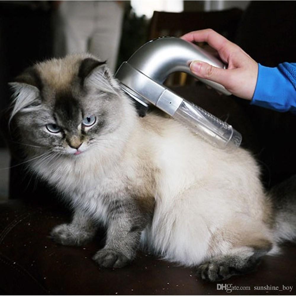 2018 Vendite calde Pet Hair Vac Aspirazione Aspirazione Fur Grooming Device Incredible Cordless Pet Vac Grey