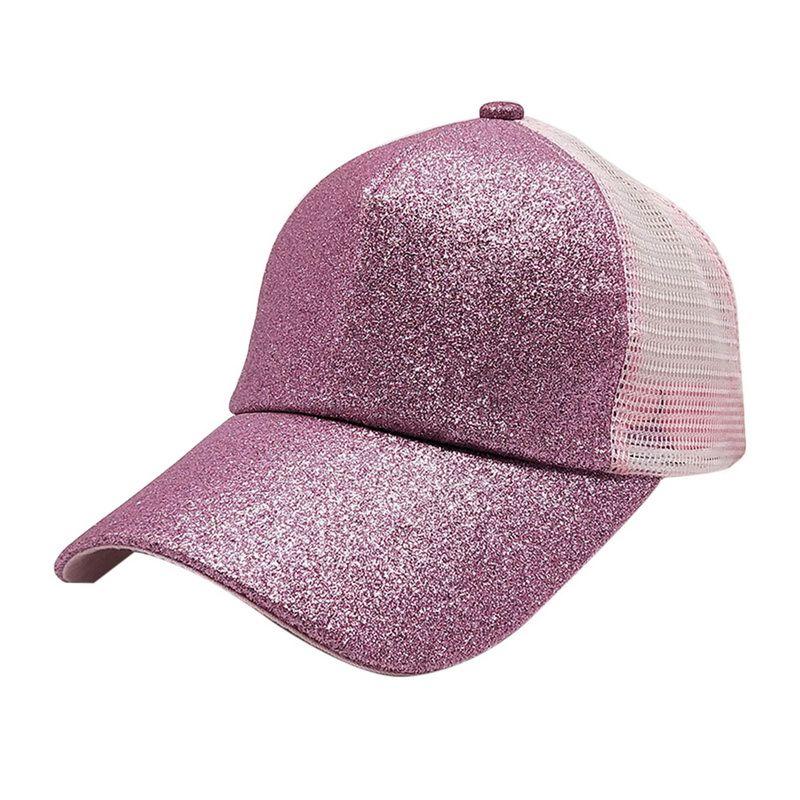 LASPERAL Summer Mesh Trucker Hat Snapback Baseball Cap Women Men Punk Rock  Sequins Shine Hip Hop Caps For Female Brixton Hats Trucker Cap From  Nectarine99 05e5a7449cb