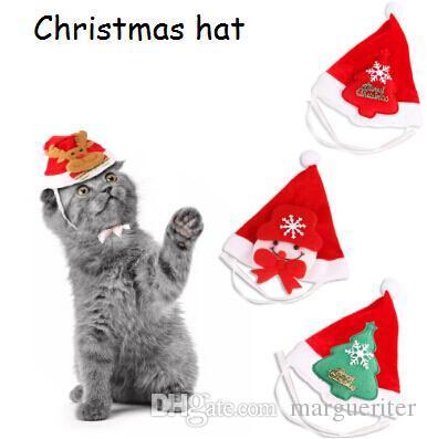 Acquista Cappello Di Natale Pet Nuovo Stile Cane Di Natale Gatto Copricapo  Costume Da Babbo Natale Gatto Con Cappello Di Pupazzo Di Neve Renna  Decorazione ... b872b807810e