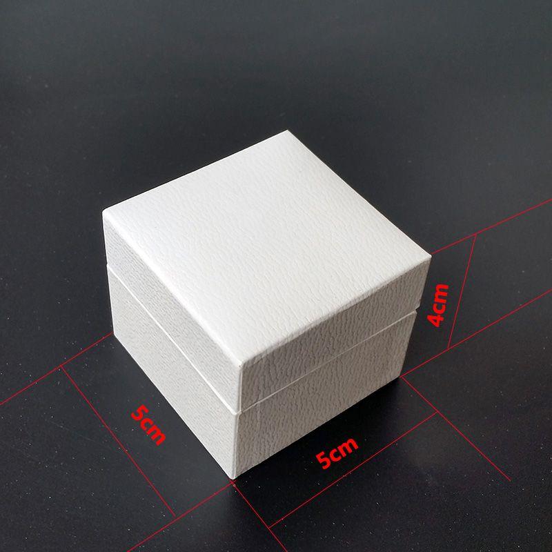 Clássico Quadrado Branco Embalagem de Jóias Caixas Originais para Pandora Charms Black Velvet Ring Brincos Exibição de Jóias