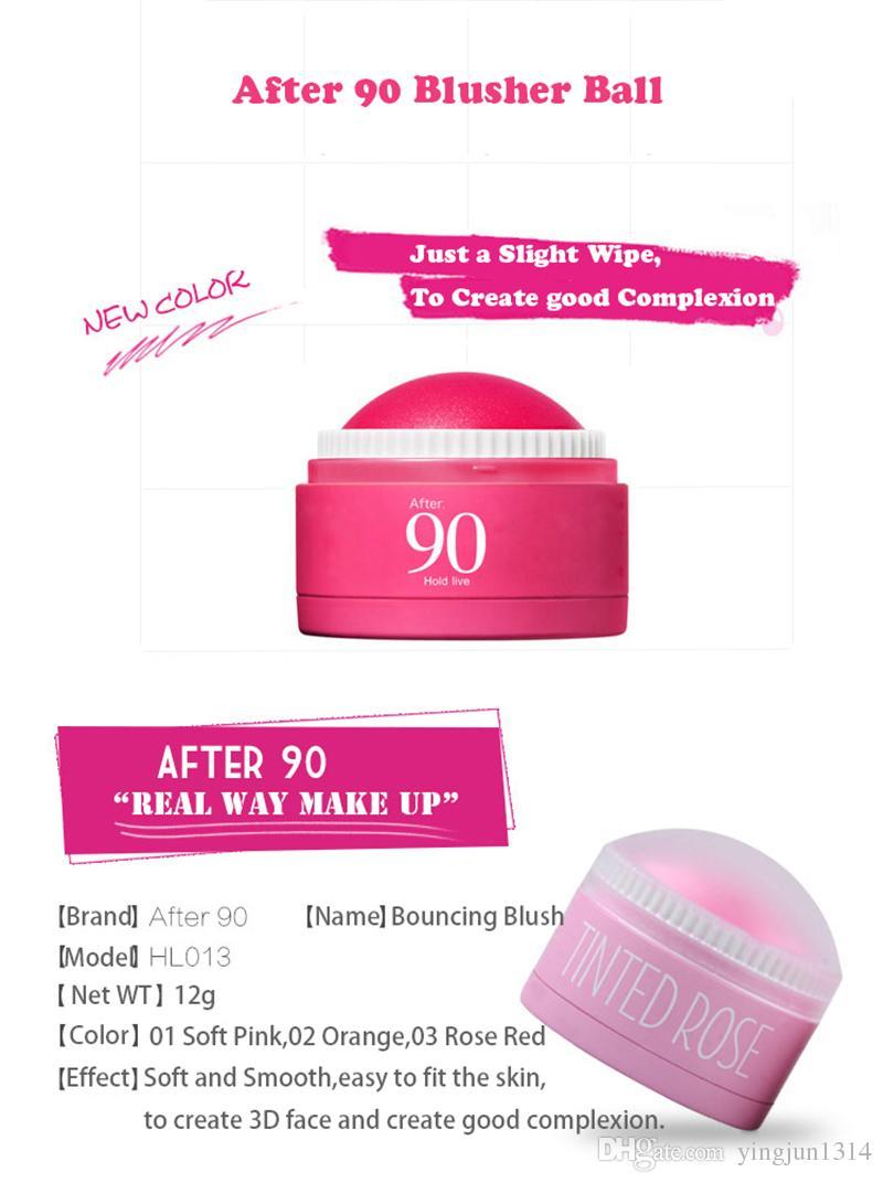 i Face Blusher Ball Soft Cream idratante Blush Makeup Soft Silk Bronzer Sweet Glow guance un aspetto naturale