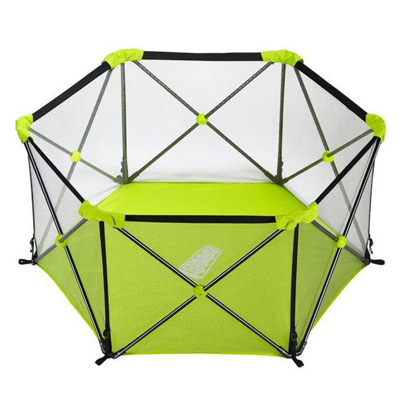 2018 Child Safety Play Fence Baby Activity Playpens Indoor Outdoor Game  Fence Infant Baby Kids Portable Folding Playard Steel Pipe From Breenca, ...